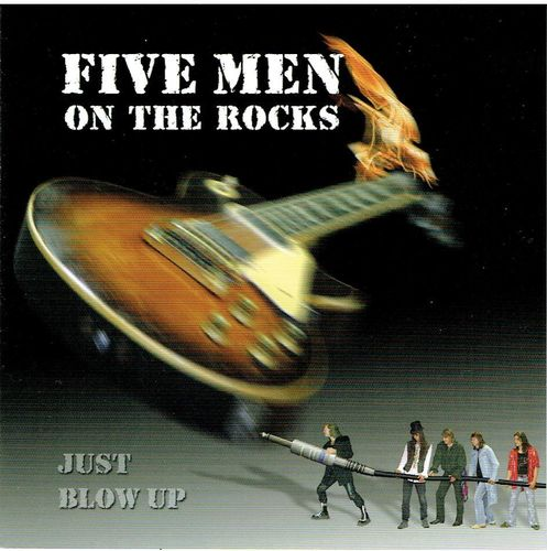 Five Men on the Rocks - Just blow up